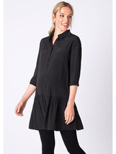 Seraphine Maternity 'January' Dropped Waist Shirt Dress