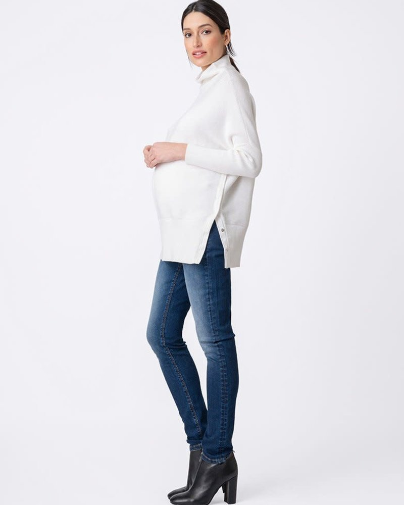 Seraphine Maternity Seraphine 'Kitty' High Neck Top