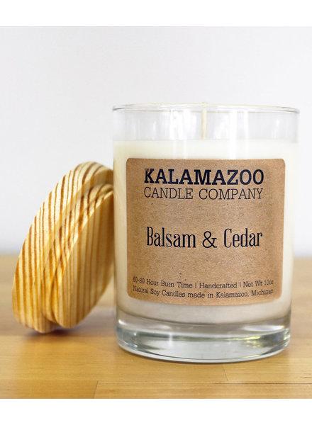 Kalamazoo Candle Co. Jar Candle in Balsam & Cedar