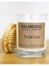 Kalamazoo Candle Co. Jar Candle in I've Got A Gal