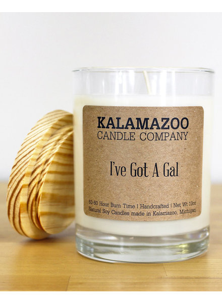 Kalamazoo Candle Co. Jar Candle in I've Got A Gal