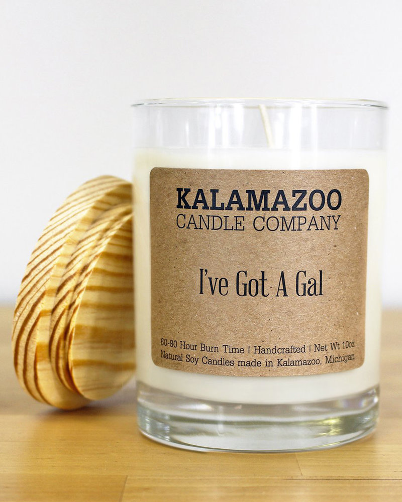 Kalamazoo Candle Co. Kalamazoo Jar Candle in I've Got A Gal