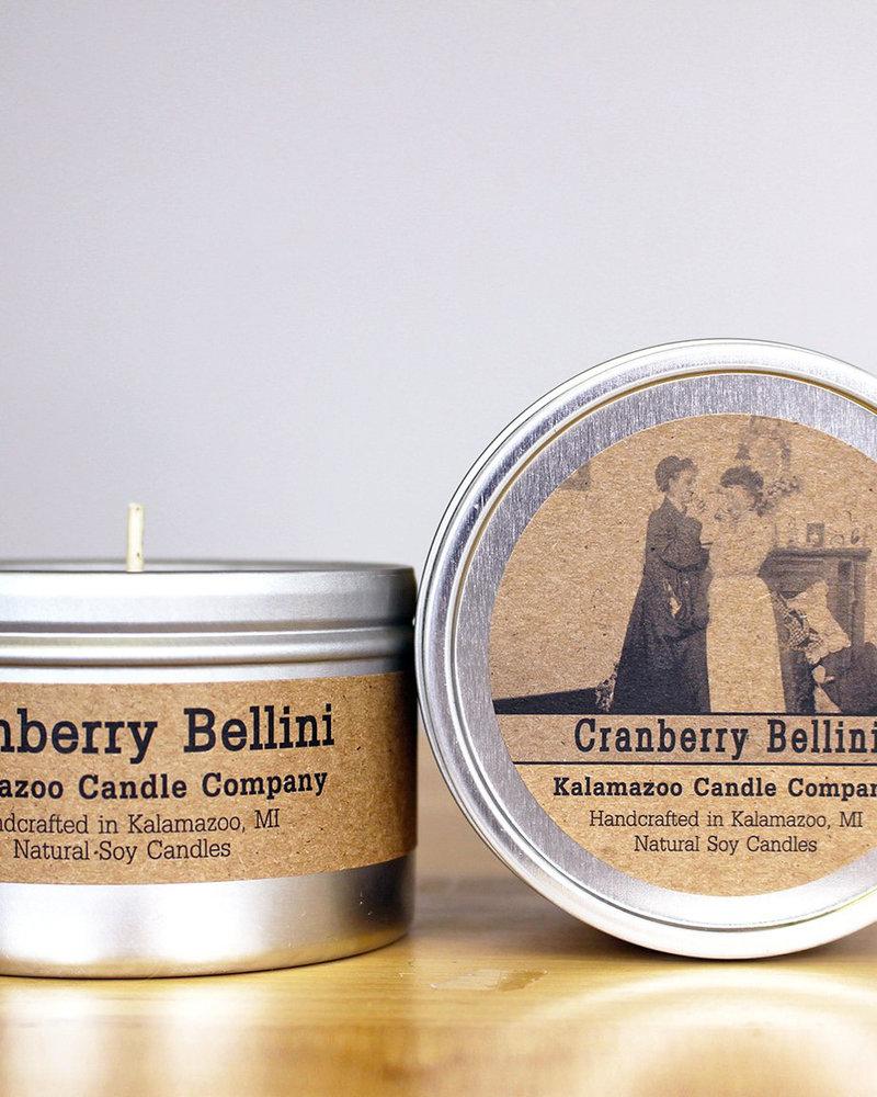 Kalamazoo Candle Co. Kalamazoo Tin Candle in Cranberry Bellini