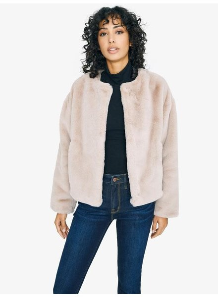 Sanctuary Clothing 'Starry Night' Faux Fur Jacket