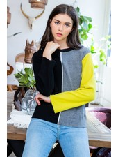 THML 'Pop Of Color' Sweater