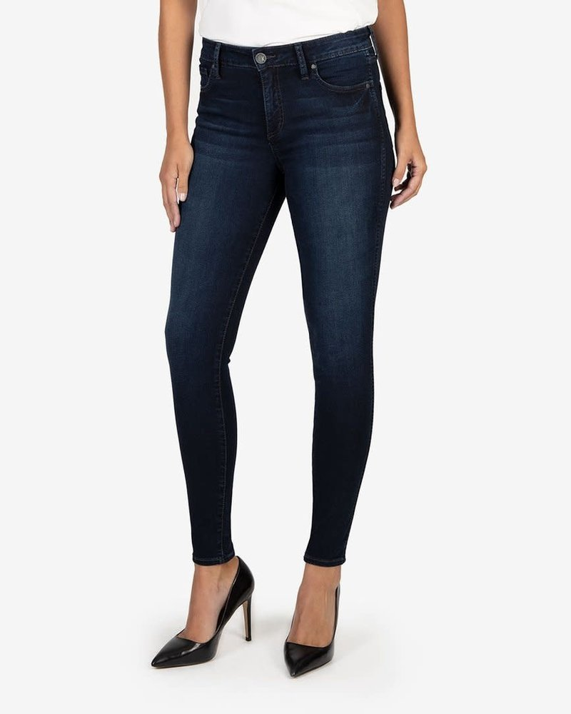 Kut from the Kloth Kut from the Kloth 'Mia' Fab Ab High Rise Skinny Jeans in Uncover
