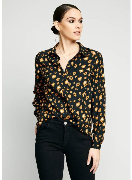 The Good Jane 'Brixie' Button Up Top (Small)