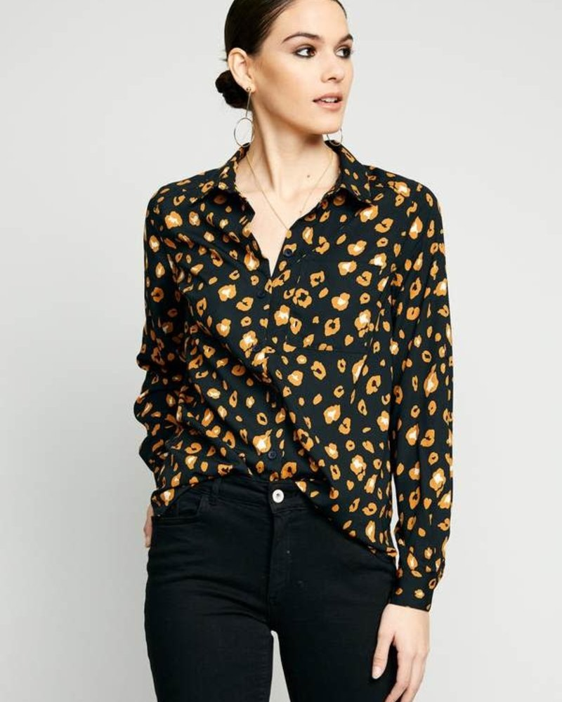 The Good Jane The Good Jane 'Brixie' Button Up Top (Small)