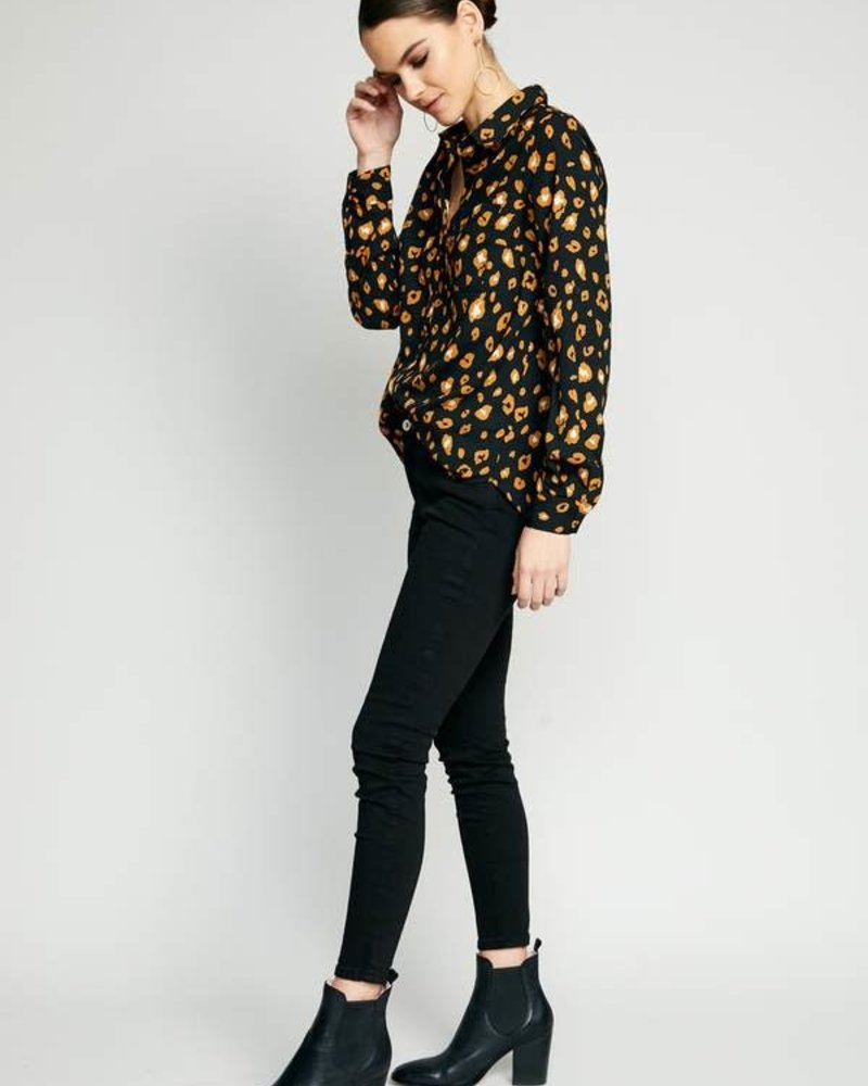 The Good Jane The Good Jane 'Brixie' Button Up Top