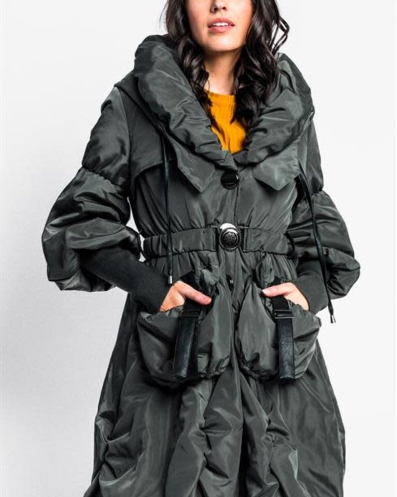 Pink Martini Collection Pink Martini 'Sky is the Limit' Puffer Coat