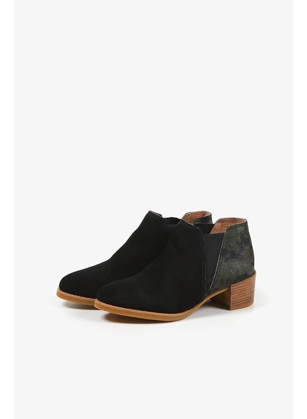 All Black 'Fur Bootieman' Bootie