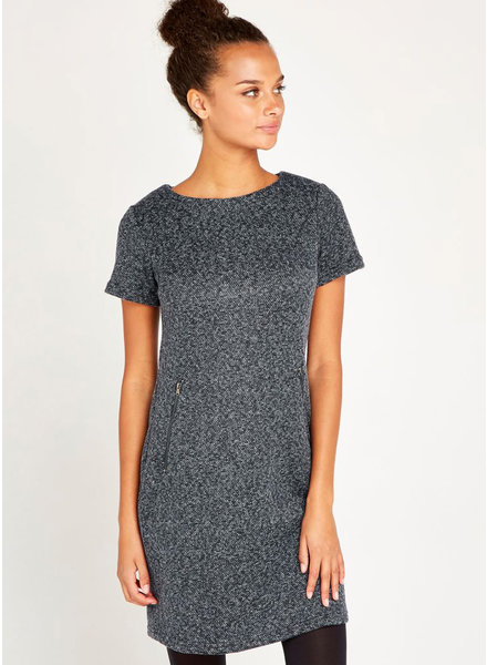 Apricot 'Tweed It Buddy' Dress **FINAL SALE**