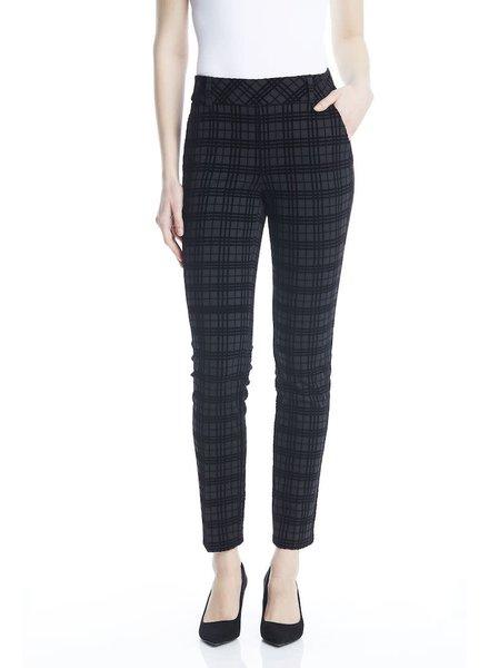 I Love Tyler Madison 'Bonnie' Grid Ponte Pant