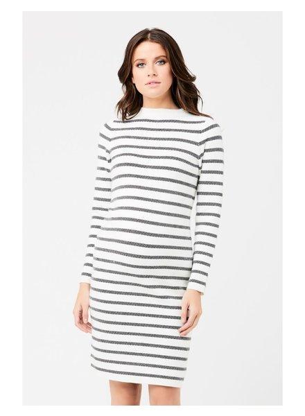 Ripe Grid Knit Maternity Dress
