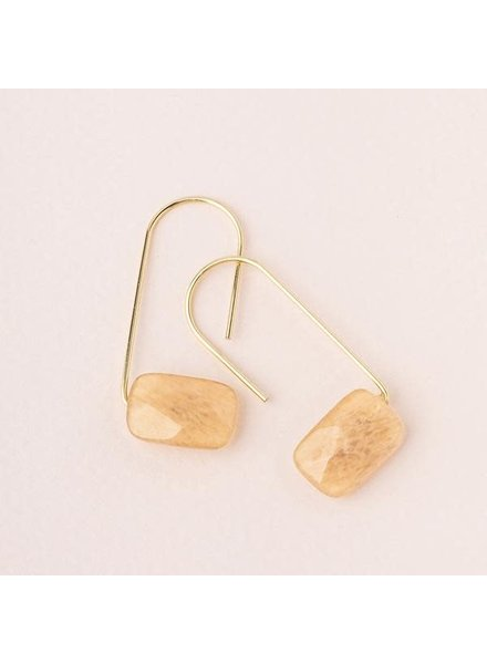 Scout Curated Wears Citrine Floating Stone Earrings