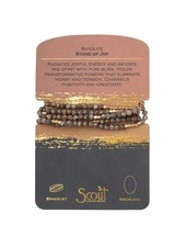 Scout Curated Wears Rhyolite Stone Wrap Bracelet/Necklace