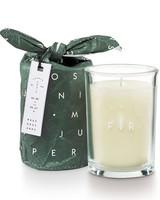 Illume Candles Frost & Fir Bundled Glass Candle in Juniper Moss