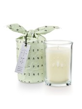 Illume Candles Frost & Fir Bundled Glass Candle in Pomander Pine