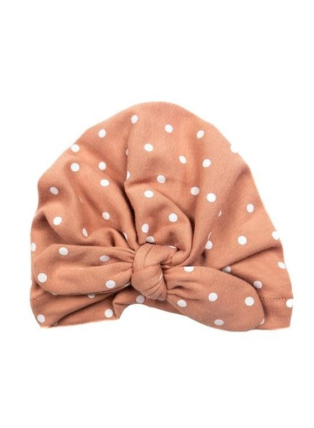 Emerson & Friends Rose Polka Dot Baby Turban