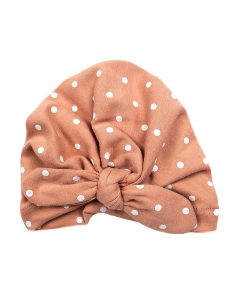 Emerson & Friends Emerson & Friends Rose Polka Dot Baby Turban