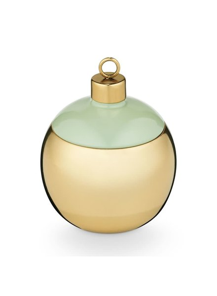 Illume Candles Frost & Fir Metal Ornament in Pomander Pine