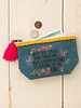 Natural Life Natural Life 'Everything Is OK' Mini Canvas Pouch