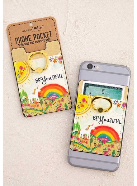 Natural Life 'BeYOUtiful' Phone Pocket Ring
