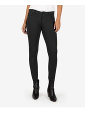Kut from the Kloth 'Donna' Skinny Ankle Ponte in Black & Grey