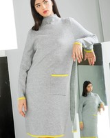 THML 'Lime Me Up'  Sweater Dress