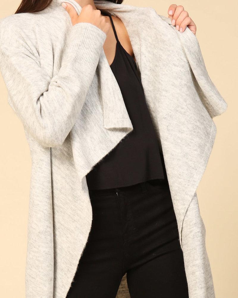 Lumiere Fashion Lumiere 'Drape Me' Cardi