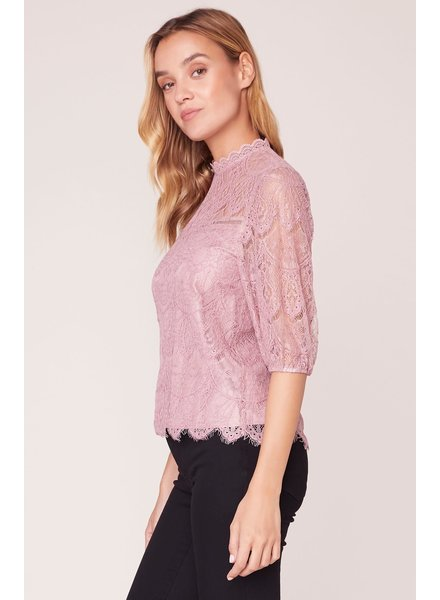 BB Dakota 'Icing On Top' Lace Top (Extra Small) **FINAL SALE**