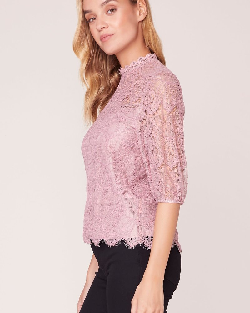 BB Dakota BB Dakota 'Icing on Top' Lace Top