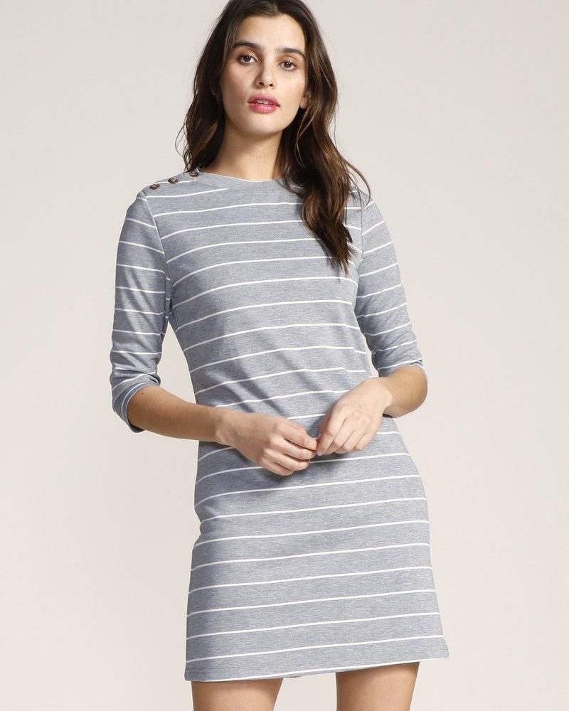 Jack by BB Dakota Jack 'My Stripe Of Gal' Dress (Extra Small)