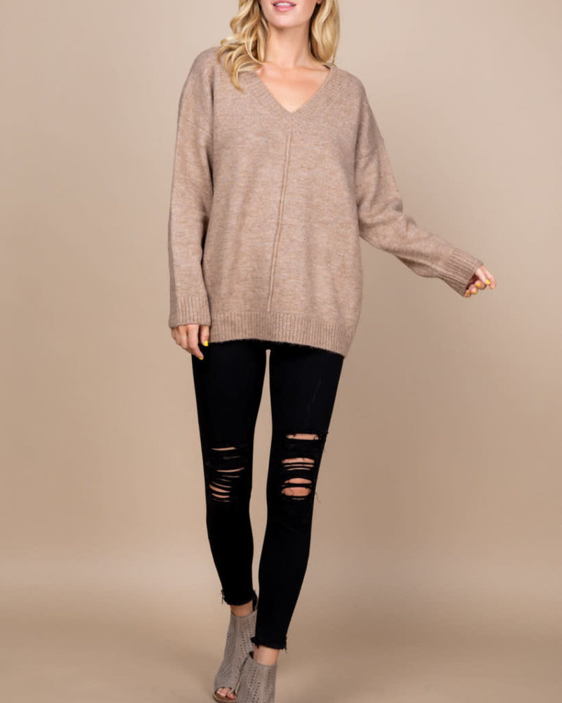 Loved + Adored Loved + Adored 'Just Like Mocha' Sweater