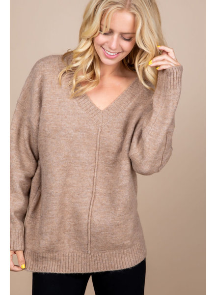 Loved + Adored 'Just Like Mocha' Sweater