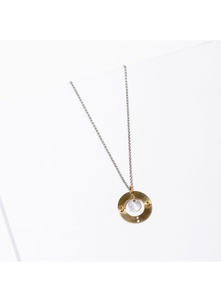 Larissa Loden Silver 'Puer' Necklace