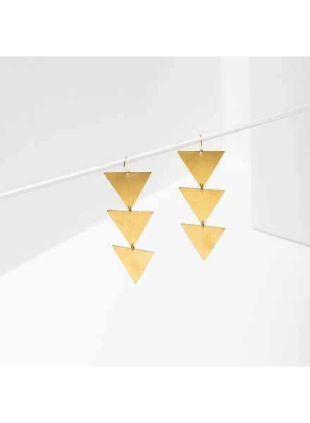 Larissa Loden Triad Earrings