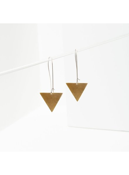 Larissa Loden 'Triangle Drop' Earrings