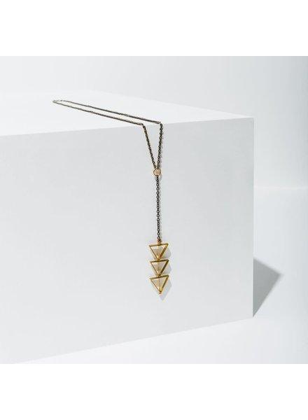 Larissa Loden 'Tri-Cut' Necklace