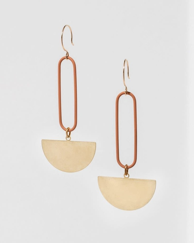 Larissa Loden Larissa Loden Peach 'Eileen' Earrings