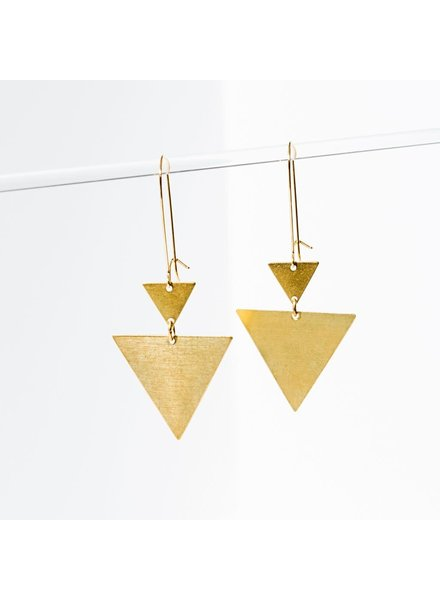 Larissa Loden 'Triangulation' Earrings