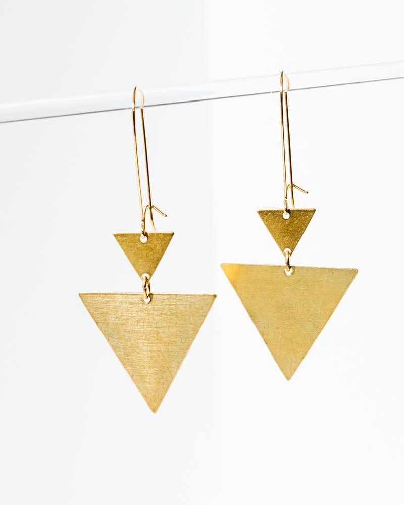 Larissa Loden Larissa Loden 'Triangulation' Earrings