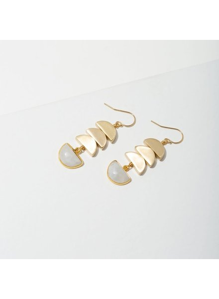 Larissa Loden Moonstone 'Vera' Earrings
