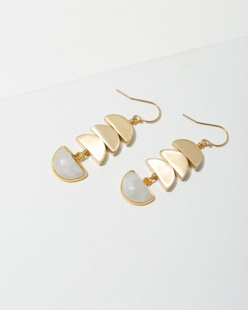Larissa Loden Larissa Loden Moonstone 'Vera' Earrings