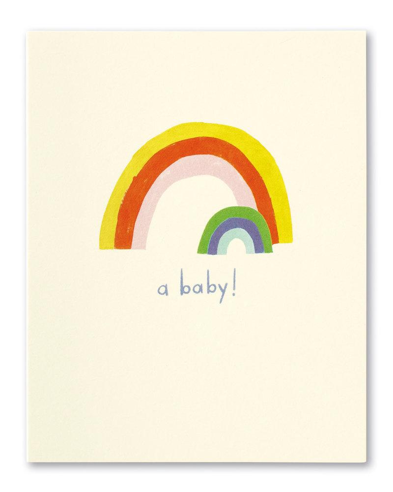 Compendium Compendium New Baby Card | 'A Baby!'