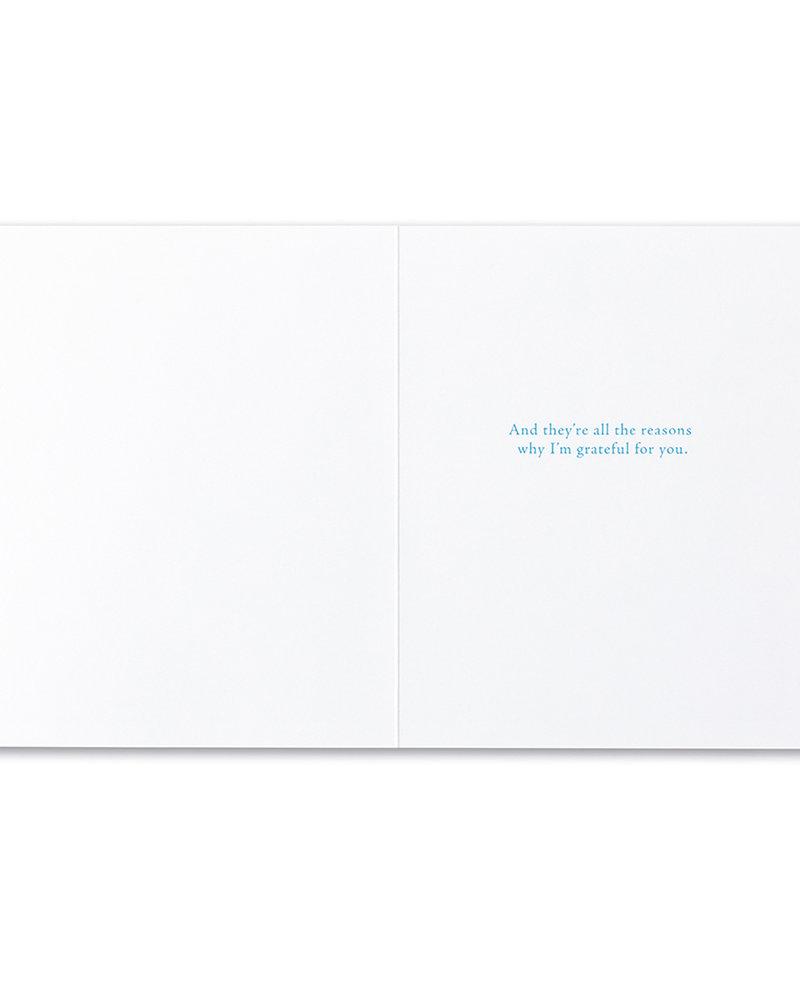 Compendium Compendium Friendship Card | 'Friendship isn't a big thing'
