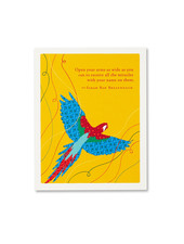 Compendium Birthday Card | 'Open Your Arms Wide'
