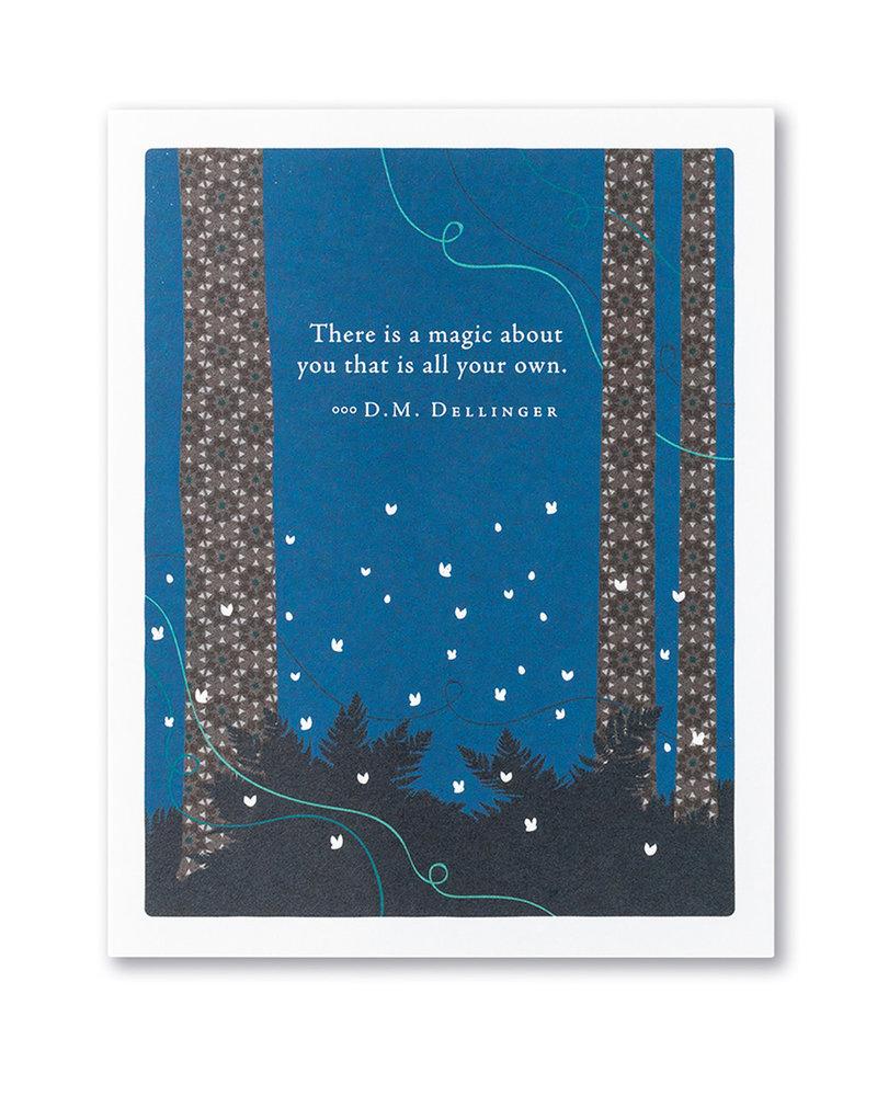 Compendium Compendium Card 'There Is Magic'