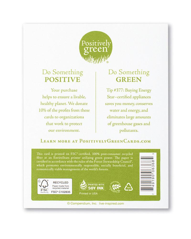 Compendium Compendium Card 'You make the world a happier place'