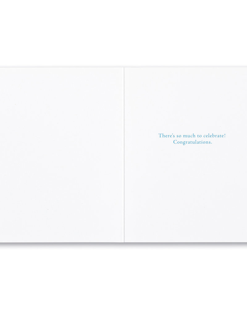 Compendium Compendium Congratulations Card | 'Your Time Has Come'